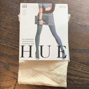 Hue 3D Diamond tights with Control Top